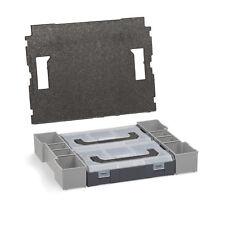 BOSCH Sortimo Boîte de cloisonnement Mini L-BOXX avec tampons de couverture