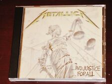 Metallica: And Justice For All CD 2013 Reissue Blackend Recordings BLCKND007-2