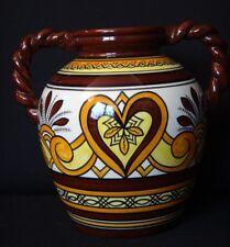 Grand vase boule Henriot Quimper 27cm Bon état