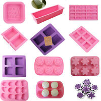 Diy Silicone Ice Cube Candy Chocolate Cake Soap Decor Baking Pan Tray Mold Mould