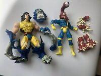 Marvel Wolverine Cyclops Monster Armor Action Figure ToyBiz 1997 Logan Loose