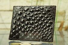 """KRALLE"" Geldbeutel/Portemonnaie Krokodlils-Leder. Wallet, crocodile, NEW! 1526"