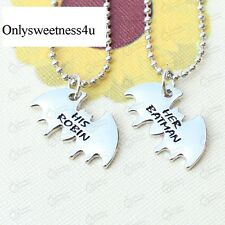 Batman And Robin DC Comics Best Friends Couples His & Hers Partner Necklace Set