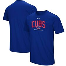 4eba6779 Chicago Cubs Mens Under Armour Arch Heatgear T-Shirt - 2XL/XL/Large