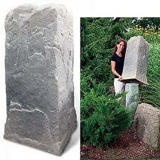 DekoRRa Mock Rock 113FS - Utility Pedestal Cover Rock - Important Sizing Tips