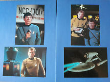 Star Trek The Original Series 4 x 6 Postcard 1991 New Unused