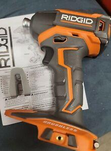 "RIDGID R86038 1/4"" 3-Speed Brushless 18V Li-Ion Impact Driver NEW FREE SHIPPING"