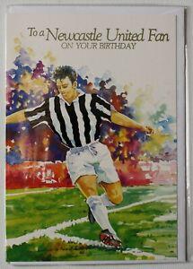 """""""NEWCASTLE UNITED FAN's""""  BIRTHDAY CARD"""