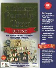 Ultimate Family Tree Deluxe (PC-CD) WINDOWS 95/98