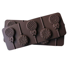 Snowflake & Lollipop Silicone Mould Mold Chocolate Kids Decoration Party Gift