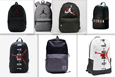 🆕 Nike Air Jordan Jumpman Backpack +Laptop Pocket (Black White Gym Red Gray) 🎒