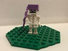 LEGO MINECRAFT SKELETON + BOW FROM SET 21146 (BRAND NEW)