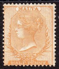 Single Victorian (1840-1901) Maltese Stamps
