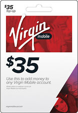 Virgin Mobile - $35 Top-Up Card - Multi