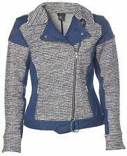 J1391 B.C. Best Connections Damen Strick Blazer Jacke Blau 38