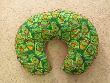 Mutant Ninja Turtle minky dot backed Emijane Nursing pillow cover - fits Boppy