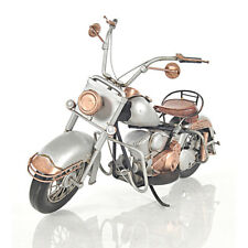 "1957 Harley Davidson Sportster Motorcycle Scale Metal Model 9"" Automotive Decor"