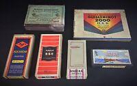 Joli lot de 6 boîtes de Plaques photos anciennes JAMAIS OUVERTES
