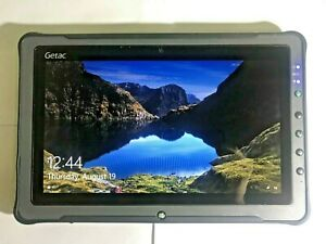GETAC F110 Fully Rugged Tablet 128SSD , CoreI5, Windows 10 Pro