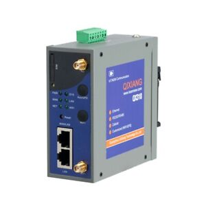 QX310 Din Rail Mount Industrial 4G LTE Modem Router With Serial RS232 RS485
