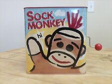 Sock Monkey Jack in the Box Toy