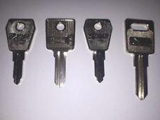 Kentec Fire Alarm Control Panel Keys x 8 (2 of each key, please see listing)