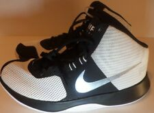 NIKE New Men's Air Precision Basketball Shoe Size 10.5 Color White Black & Sliv