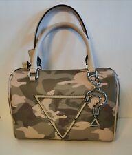 "Guess satchel handbag Camouflage ""Tania"" Womens"