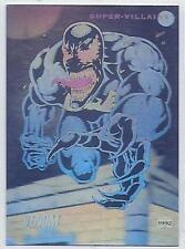 1992 Marvel Universe trading cards  Insert Foil chase card # H-4 VENOM.