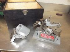Devlieg Microbore Clarkson Mill Tooling Grinder Sharpening Radius Fixture Drill
