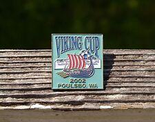 Viking Cup 2002 Poulsbo, WA Washington Soccer Ball Metal & Enamel Pin Pinback