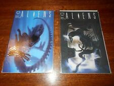 Aliens 1989 Dark Horse Comics  #2 and #3 Hicks, Newt  Near Mint NM