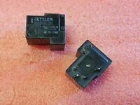 5X AMERICAN ZETTLER AZ2151-1C-12DE 12VDC POWER RELAY SPDT
