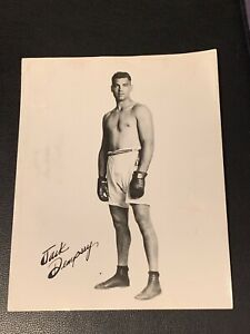 Original Jack Dempsey Vintage boxing photo PSA Ready Clean Rare mint promo photo