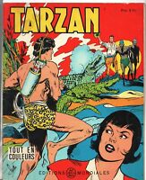 Collection TARZAN n°15. Editions  Mondiales 1965.  HOGARTH. Tout en couleurs