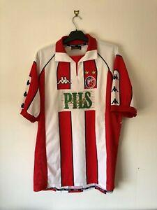 Red Star Belgrade XXL 1999/00 Kappa Vintage Retro 99/00 Football Shirt