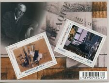 TIMBRE FRANCE  FEUILLET N° F4800 ** ART / ARTISTE / GEORGES BRAQUE