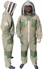 More details for three layer ultra ventilated green beekeeping suit professional bee suit