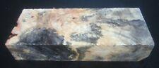 Buckeye burl wood blank #112 7 x 2 3/4 x 1 1/2