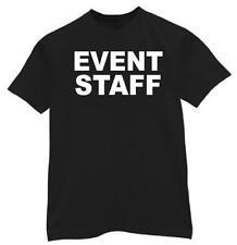t-shirt small-2XL EVENT STAFF concert custom employee PARTY