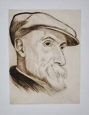 Rafaël SCHWARTZ - Estampe originale - Eau-forte - P-A Renoir