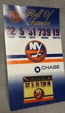 New York NY Islanders Hall of Fame Pin SGA - Bossy, Potvin, Smith, Trottier