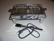 ANTIQUE VINTAGE ELECTRIC TOASTER SUNBEAM No.4 CHROME BAKELITE ART DECO ~ WORKS