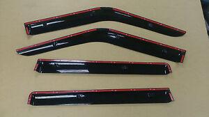 Wind Deflector Visor Vent Sun Shade Rain Guard for Suzuki Swift 09-11 4pcs