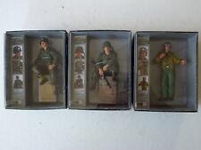 Torro 1/16 Hand-Painted Tank Crew Figures - US Tank Commander & Riders -Set of 3