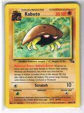 POKEMON FOSSIL  KABUTO  CARD 50/62   - FREE P&P