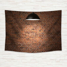 Red brick wall Tapestry Wall Hanging for Living Room Bedroom Dorm Decor
