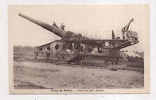 camp de mailly , canon de 340mm berceau