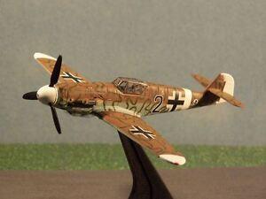 "Dragon Me Bf109G-2 Trop~""Black 2""~Tunisia~1943~DW50068"