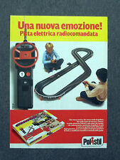 G261-Advertising Pubblicità - 1982 - POLISTIL PISTA ELETTRICA RADIOCOMANDATA
